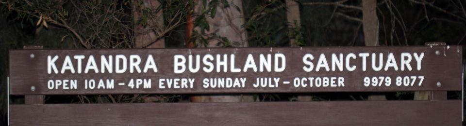 Katandra Bushland Sanctuary